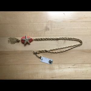 Star fish long necklace
