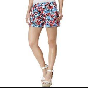Tommy Hilfiger Pants - Tommy Hilfiger Twill Flower Shorts