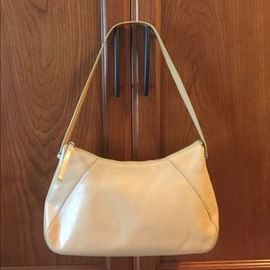 Handbags - Sale! Classic Beige Leather MONSAC Tote