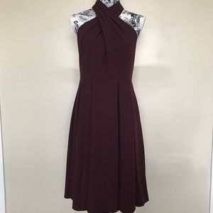 Halston Heritage Dresses & Skirts - Halston Heritage Crisscross Neckline Ponte Dress