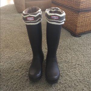Matte Black Hunter Boots