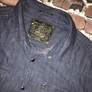 Cactus Other - CACTUS~Handcrafted Clothing Co.~Chambray Shirt