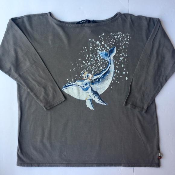 La Miniatura Other - NWT La Miniatura girls whale long sleeve tee