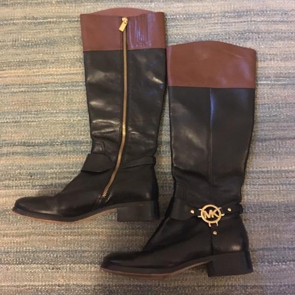 83 michael kors shoes black and brown michael kors