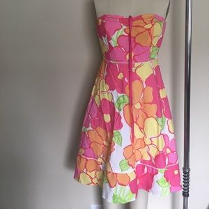 Bright fluro Lilly Pulitzer dress