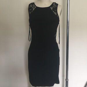 Faviana Dresses & Skirts - Brand New Black Lace Faviana cocktail dress