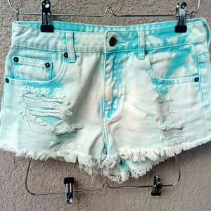 Forever 21 Pants - Awesome forever 21 tie dye distressed shorts