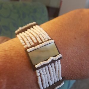 Jewelry - Mother of Pearl Stretchy Bracelet