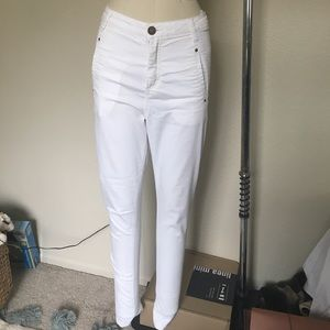 5unit Denim - Summer white 5 unit skinny jeans