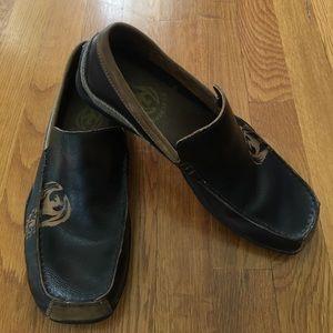 Skechers Other - Skechers Men's Phoenix Brown Leather Loafer