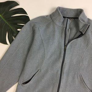 Smartwool Jackets & Blazers - SMARTWOOL // wmns sz L WOOL full zip grey jacket