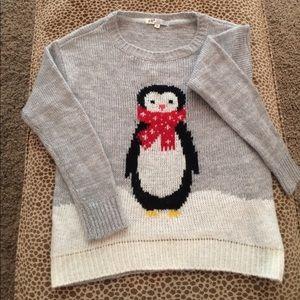 Jolt Sweaters - Snowman Sweater Ladies Large