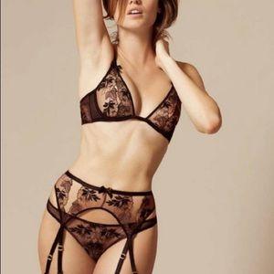 9524cdbab7 Agent Provocateur Intimates   Sleepwear - BNWT Agent Provocateur Petra Bra  Black Cinnamon