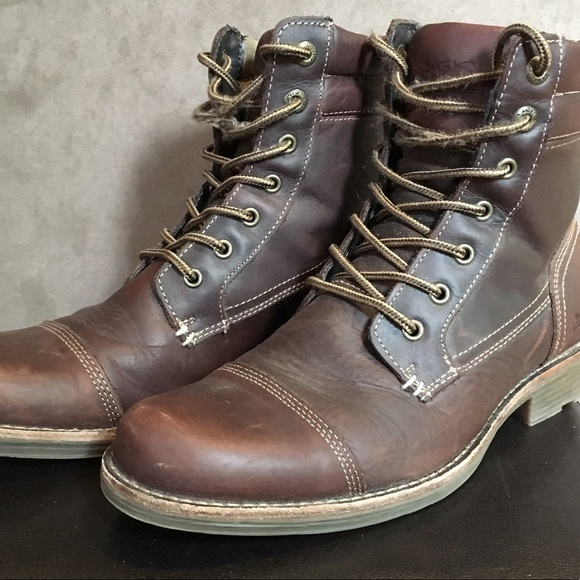 335d56014c3a2 Levi's Shoes | Sale Mens Brown Levis Boots Lex Size 9 | Poshmark