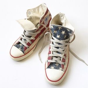 Converse Shoes - Converse All-Star, Stars & Stripes High Tops 🇺🇸