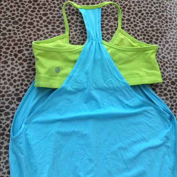 33 off lululemon athletica tops lululemon tank with for Shirts with built in sports bra