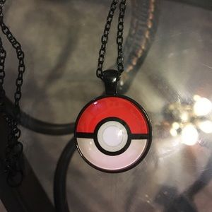 Pokemon Other - Unisex poke'mon necklace with black chain❤️