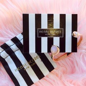 NWOT Henri Bendel Rose Gold Bangel/Bracelet