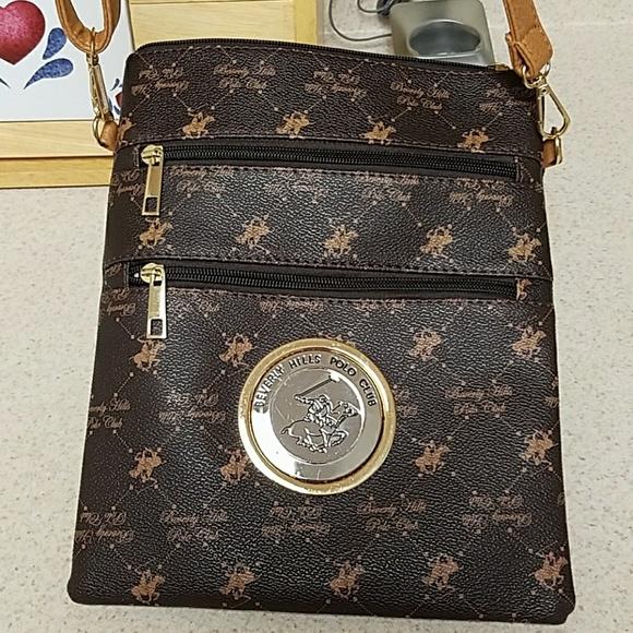 c6d163cdfa2 Beverly Hills Polo Club Handbags - Authentic Beverly Hills Polo Club  crossbody