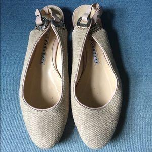 6b36e9b63 Fratelli Rossetti Shoes - Fratelli Rossetti slingback flats canvas 6.5