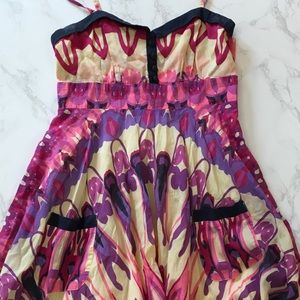Aryeh Dresses & Skirts - ARYEH PSYCHEDELIC POCKET DRESS!! 🌈🦋