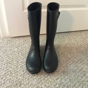 Kamik Shoes - Kamik Black Rain Boots