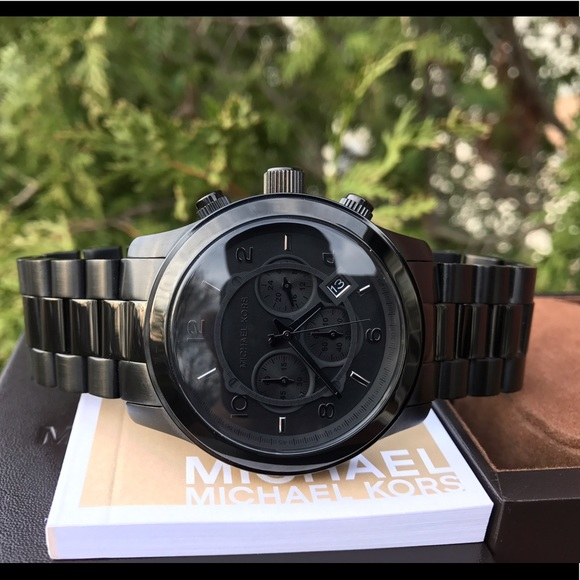 33e203840fc1 Men s Michael Kors Runway MK 45mm Watch MK8157