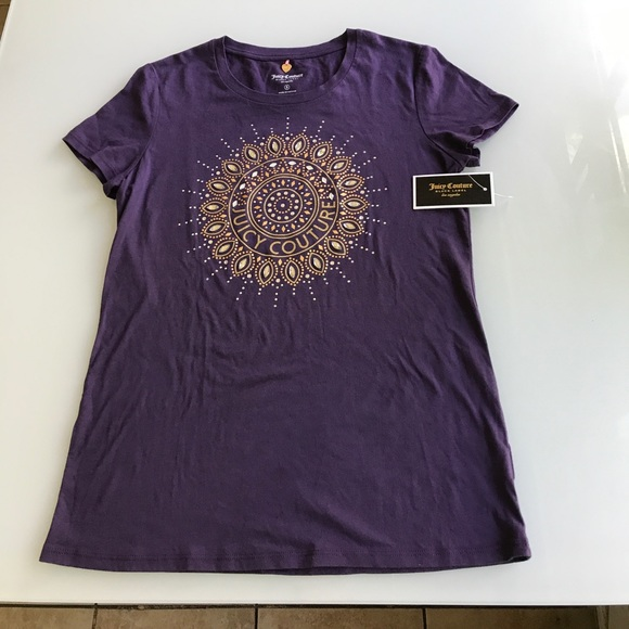 fcfc6b06ca3c Purple juicy couture shirt