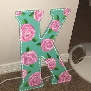 LILLY PULITZER INSPIRED PAINTED K