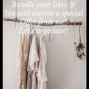 Other - Bundle Your Likes!  I'll send you an offer!