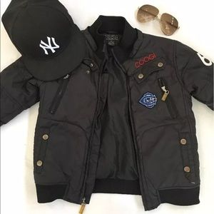 Coogi bomber jacket size 4t
