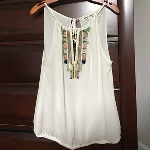 Andrew Charles Tops - Beaded blouse
