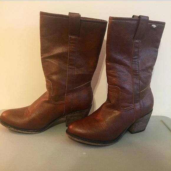 5034db05fcc Rocket Dog Brown Cowboy Boots (Size 9)
