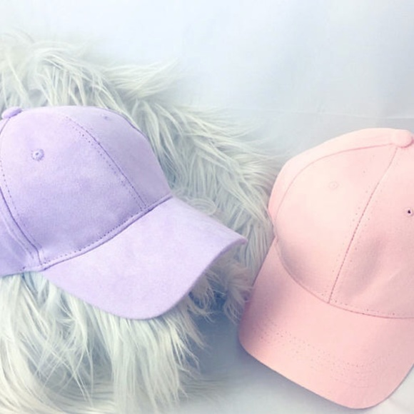 407b5c0d Accessories | Light Lavender Purple Vegan Suede Dad Cap | Poshmark