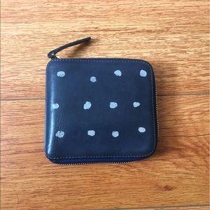 Clare Vivier Handbags - Clare V. Half Zip Wallet