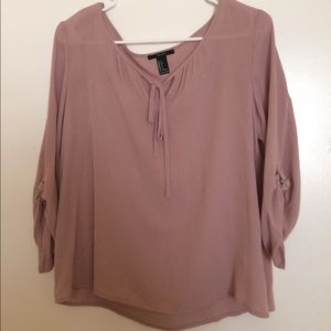 Forever 21 Mauve top