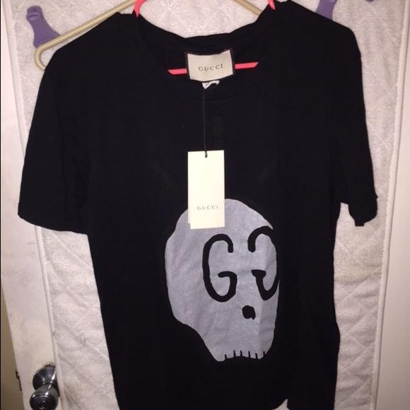 b63b3e771e1 Gucci ghost Tshirt msrp   529.00 100% authentic