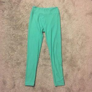 LuLaRoe Pants - LuLaRoe Mint Green Leggings