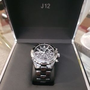 Authentic Chanel J12 Automatic Chronograph