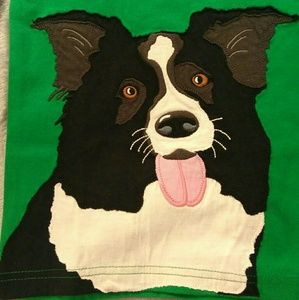 Mini Boden Other - NWT Mini Boden green short sleeve dog t-shirt