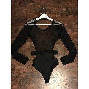 Pants - Mesh bodysuit
