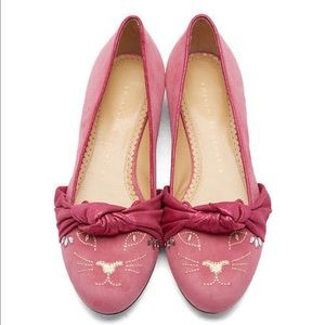 Charlotte Olympia Shoes - Charlotte Olympia Kitty Flats