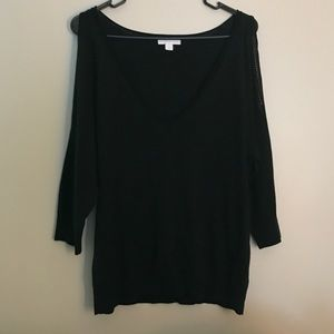 New York & co. Cold shoulder sweater