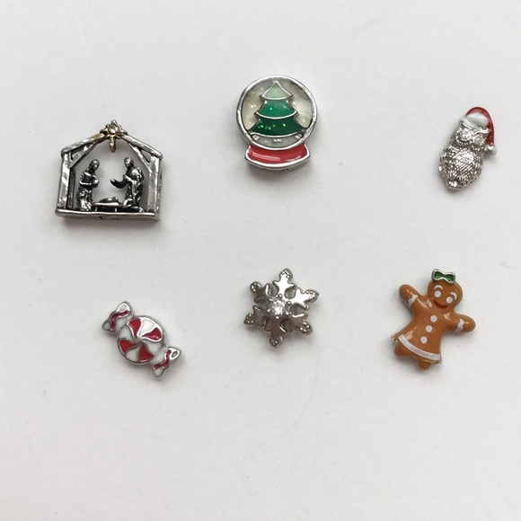 origami owl origami owl authentic holiday charms