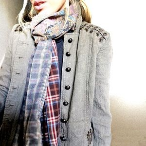 """upcycled Accessories - Upcycled scarf 8.5"""" x 76"""""""