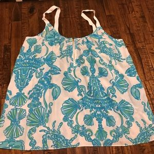 Lilly Pulitzer Silk tank
