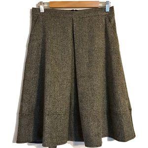 Dresses & Skirts - Front Pleat Knee length Skirt