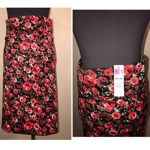 Agnes & Dora Dresses & Skirts - NWT Agnes & Dora Floral Pencil Skirt