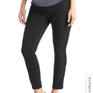 GAP Pants - Gap Maternity demi panel skinny ankle pants