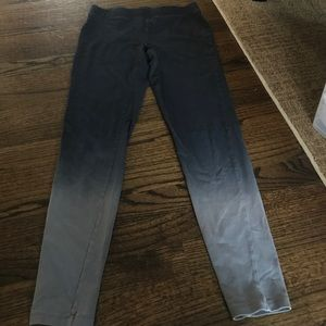 Ombré leggings from Express